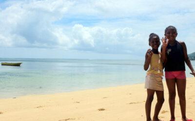 Maia Island in The Seychelles, a small island in peril